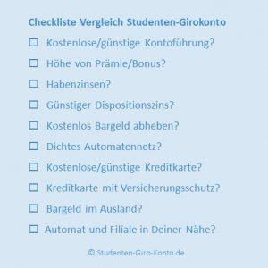 Studenten-Girokonto